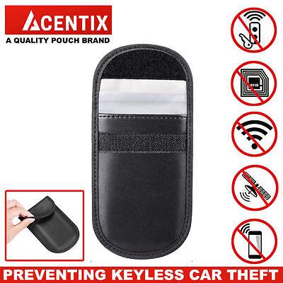 2X Car Key Signal Blocker Case Faraday Cage Fob Pouch Keyless RFID Blocking Bag 8