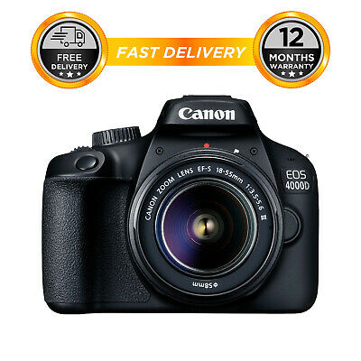Canon EOS 4000D Kit with 18-55 III Lens Digital SLR Cameras 2
