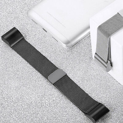 For Fitbit Charge2 Replacement Strap Milanese Band Metal Stainless Steel Magnet 9