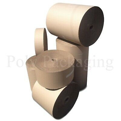 CORRUGATED PAPER ROLL 10 WIDTHS(300-1500mm) Any Qty/Lengths CARDBOARD Packaging 3