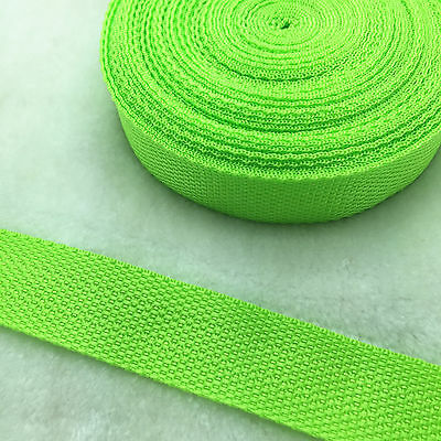 """New 2/5 Yards Length 3/4"""" 20mm Wide Strap Nylon Webbing Strapping Pick Y 2"""