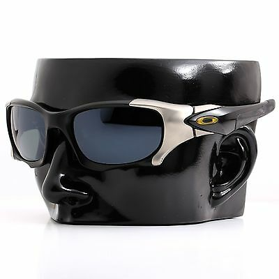 b6edd4d89f ... Polarized IKON Replacement Lenses For Oakley Pit Boss 2 II Sunglasses  Black 2