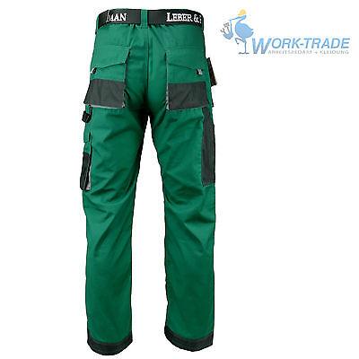 Arbeitshose Bundhose Arbeitskleidung Herren Hose Grün Schwarz Grau Gr. 46 - 62