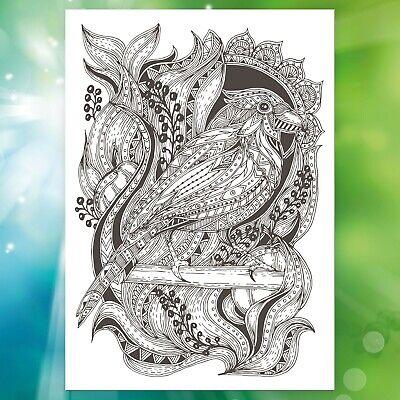 Malbuch Für Erwachsene Tiere Ausmalbilder Malblock Mandala