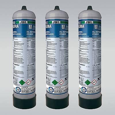 JBL ProFlora u500 2 (3x) CO2 Einweg-Vorratsflasche (3x) 500g Pflanzendüngung 2