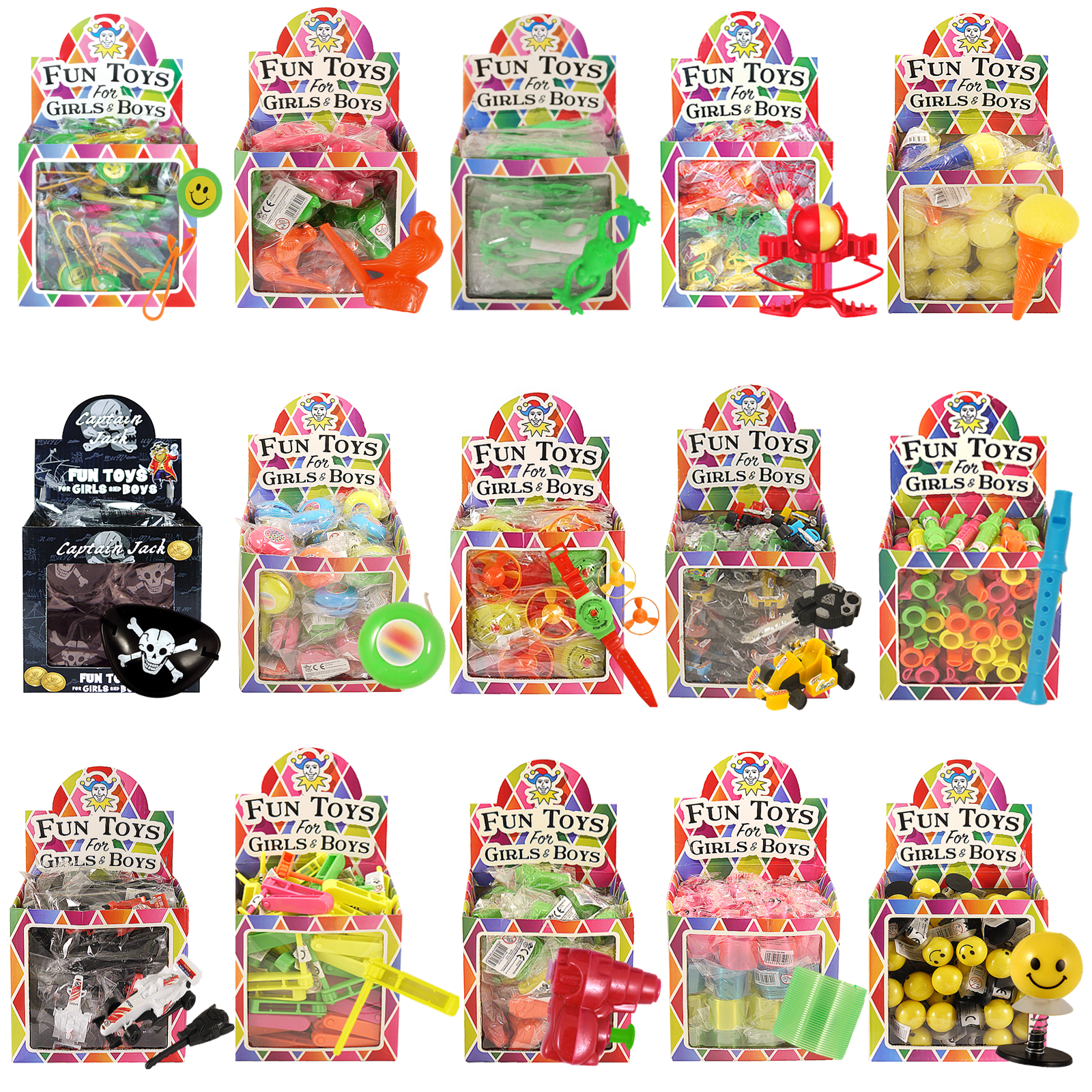Bulk Buy Job Lot Wholesale Kids Toy Prizes Party Bag Fillers Xmas Fair PTA Event 3