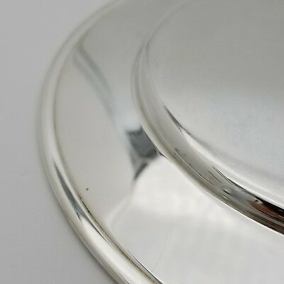 Tiffany & Co. Makers Sterling Silver ~6.5' In* Cookie Saucer Bread Charger Plate 10