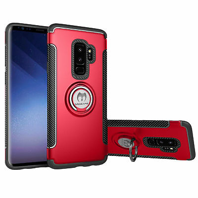 Mosafe® For Samsung Galaxy S9/S8 Plus/Note 9/8 Ring Holder Shockproof Case Cover 5