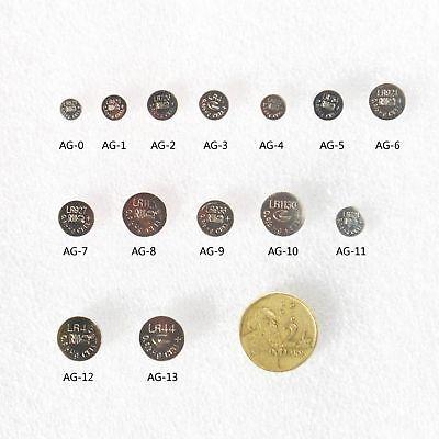 10X AG13 1.5v LR44 G13 LR44 A76 GP76A 357 Alkaline Button Coin Battery Sydney 5