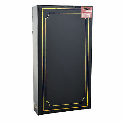 ARPAN Plain 6' X 4' Photo Album with 300 Pockets Black, Blue or Burgundy - 4