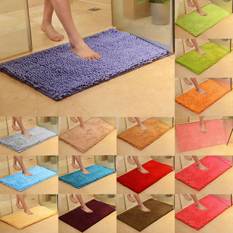 Fluffy Rugs Shaggy Area Rug Anti-Skid Bedroom Carpet Floor Mat Home Dining Room 5