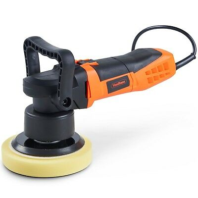VonHaus Dual Action Car Polisher Kit 180mm Random Orbital Polishing Machine 10