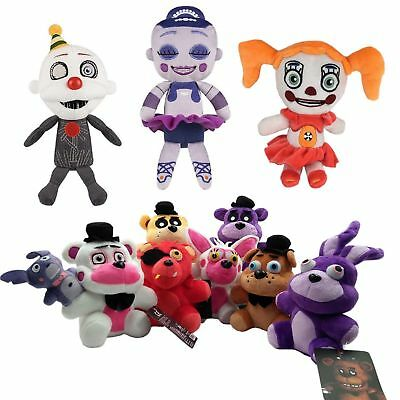 """Five Nights at Freddy's FNAF Horror Game Plush Doll Kids Plushie Toy 4.7"""" 7""""10"""" 4"""