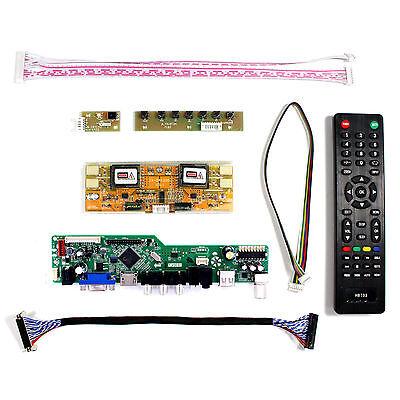 "HDMI DVI VGA Audio Control Board For 17/"" 19/"" M170EG02 HSD190ME13 1280x1024 LCD"