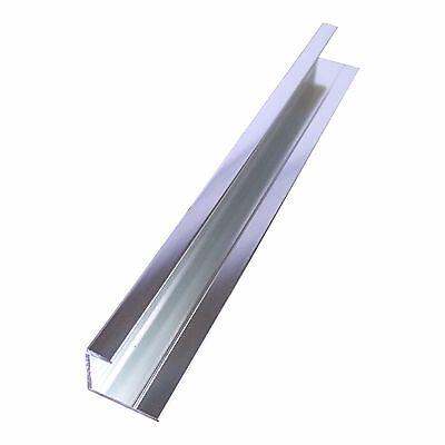 Aluminium Trims For 10mm Shower Wall Panels Bathroom End Cap Corners H Join 2.4m 3