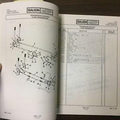 Galion 150FA PARTS MANUAL BOOK CATALOG MANUAL HYDRAULIC MOBILE CRANE GUIDE #5603 3