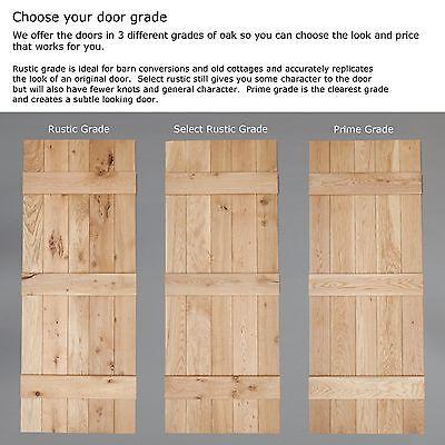 1 of 12FREE Shipping Bead \u0026 Butt - Solid Oak Internal Ledged Door - Cottage Door  sc 1 st  PicClick UK & BEAD \u0026 Butt - Solid Oak Internal Ledged Door - Cottage Door ...