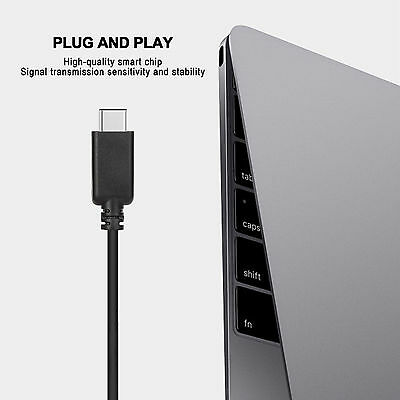 USB-C Type C USB 3.1 Male to HDMI Female Adapter Cable For LeTV Phone MacBook 12 3
