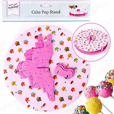 New 32 Hole Pops Card Cake Pop Stand Lolly Pop Stand Display Cupcake Pop Stand