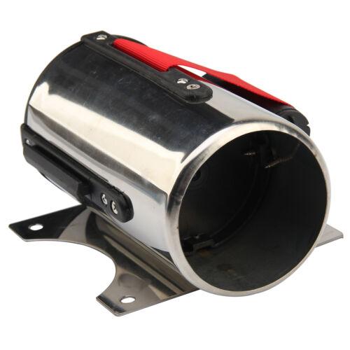 5M Rojo CinturóN Stanchion Barrera de Control Multitud Montaje Pared Retráctil 6