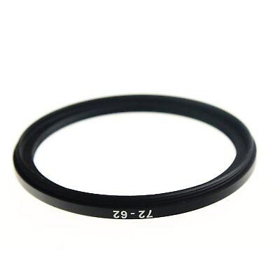 RISE(UK) 72mm-62mm 72-62 mm 72 to 62 Step down Ring Filter Adapter