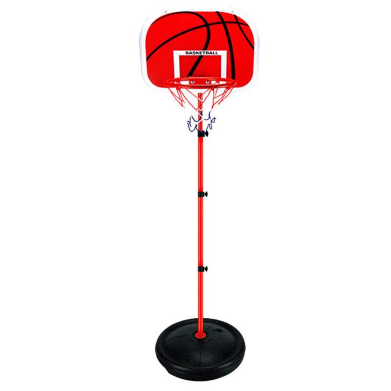 Adjustable 170cm Kids Basketball Back Board Stand & Hoop Set Children Gift UK 7