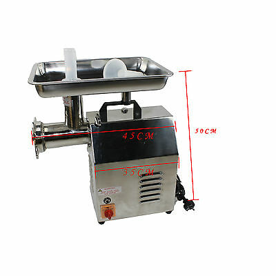250kg/hr 900W NEW Commercial Electric Meat Mincer Grinder Sausage Filler Maker 2