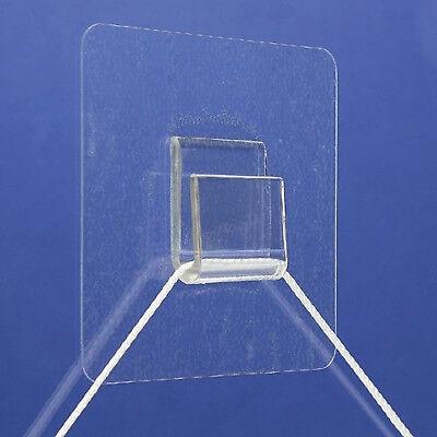 Plastic Picture Hooks Hang On Glass Mirrors Marble Ceramic Tiles Steel Enamel 2