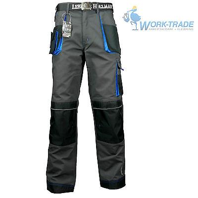 Arbeitshose Bundhose Arbeitskleidung Hose Herren Grau Schwarz Blau Gr. 46-62 3