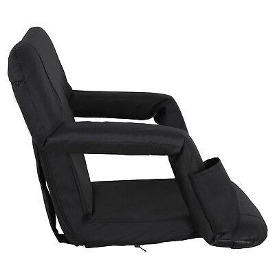 2 Pack Portable Football Stadium Seat Chair for Bleacher Backrest tilt 5 angels 11