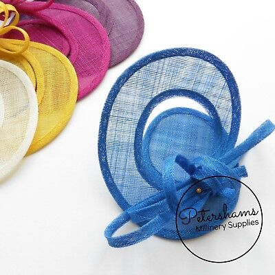 Sinamay Swirl - Make an Instant Fascinator for Hat Making and Millinery! 2