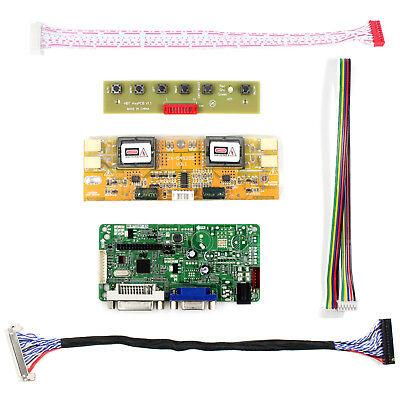 DVI VGA LCD driver board work for 19inch 1280x1024 LM190E02 M190EG03 LCD panel 2