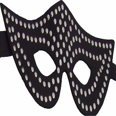 Augenmaske Augen Binde Gesicht Maske  Ledapol 335 ECHT LEDER Venezia Venedig