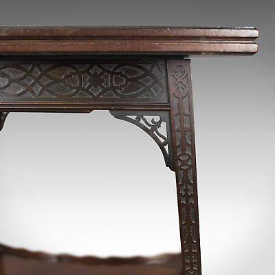 Antique Fold-Over Games Table, English, Edwards & Roberts, London Circa 1880 6