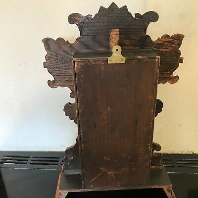 Superb Antique late Victorian American   Mantle  clock, working 7