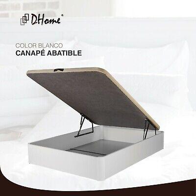 Canape Abatible tapizado 3D 4 VALVULAS AIREACIÓN, 29cm capacidad, canapé NUEVO 5