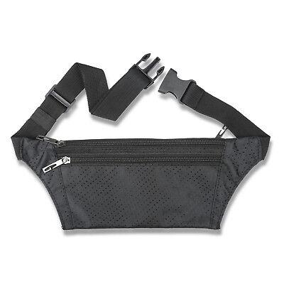 Waterproof Running Hiking Sport Bum Bag Travel Money Phone Waist Belt Zip Pouch 4