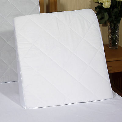 Bed Wedge With Washable,quilted Poly Cotton Cover