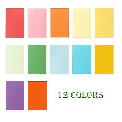 20 x 180gsm A4 Coloured Card Cardboard Paper DIY Craft Making Cardstock Premium