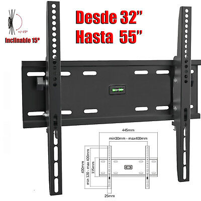 Soporte TV Pared LCD LED PLASMA 22 26 28 32 39 40 43 42 47 48 49 50 52 55 60 65 5