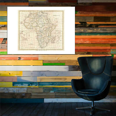 Africa Map Clement Cruttwell 1799 Wall Art Poster Print 8