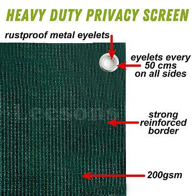 220gsm privacy screen netting garden screening windbreak fencing 95% shade net 4