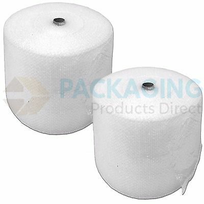 UK BUBBLE WRAP SMALL & LARGE BUBBLE - EUROPES CHEAPEST 300 500 750mm 50 / 100m 5