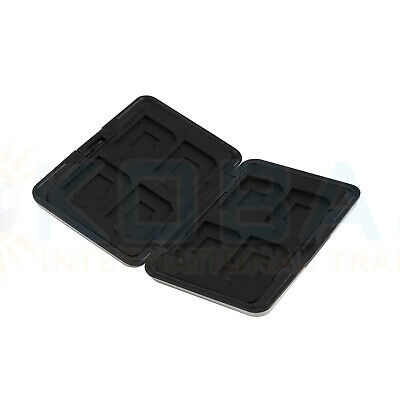 Memory Card Storage Box Case Holder with 8 Slots for SD SDHC MMC Micro SD Cards 9