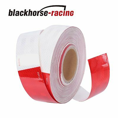 """WHITE  Reflective   Conspicuity  Tape 2/"""" x 35 feet DOT-C2"""