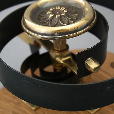 Victorian Style Brass Claverley Front Door Bell Pull & Bell 6