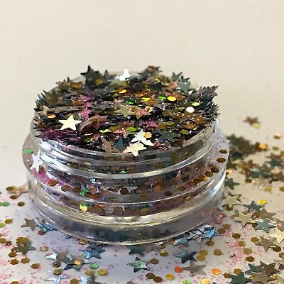 Chunky Glitter Loose Mix Pot Eye Shadow Nail Face Tattoo Festival Club Cosmetic 7