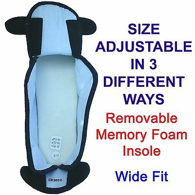 24894d5e6f5f ... Extra Wide Slippers E   5E Memory Foam Touch Fastening Mens Ladies  Woman 3 To 12