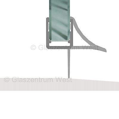 Duschdichtung Wasserabweiser Duschprofil Streifdichtung Schwall 5-8 mm, 20cm-2m 11