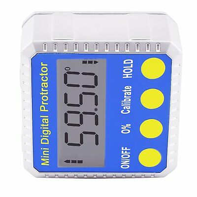 Digital BEVEL BOX Inclinometer Angle Gauge Meter Protractor 360° with Magnets 8